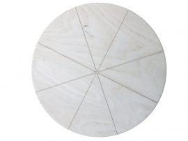 70 cm es pizza kínáló deszka