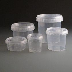 4.Műanyag vödör garanciazáras/dézsmazáras 560 ml+tető