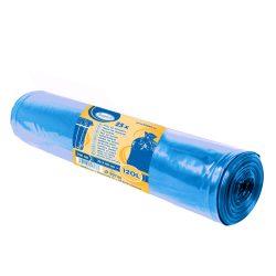 Szemetes zsák kék 70x110cm 120l 40mic. (25db)